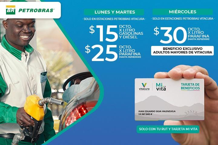 Descuentos en Petrobras con Tarjeta Mi Vita
