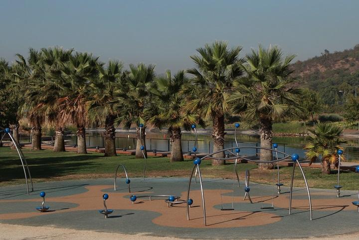 Juegos infantiles Parque Bicentenario