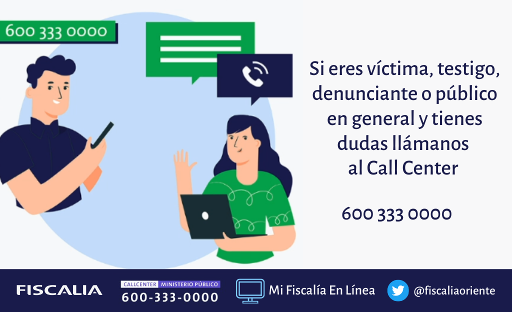Vitacura: Fiscalía Local de Las Condes, Call Center