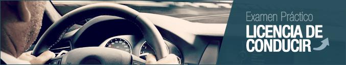 Examen Práctico Licencia de Conducir